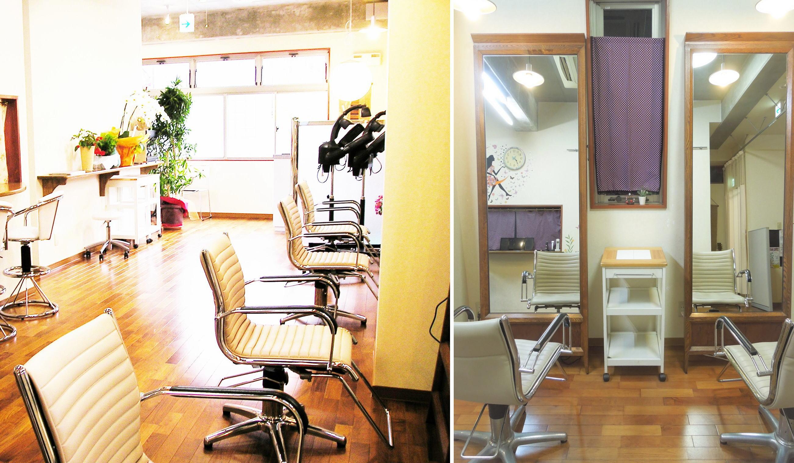 髪質改善艶髪美容室のイメージ